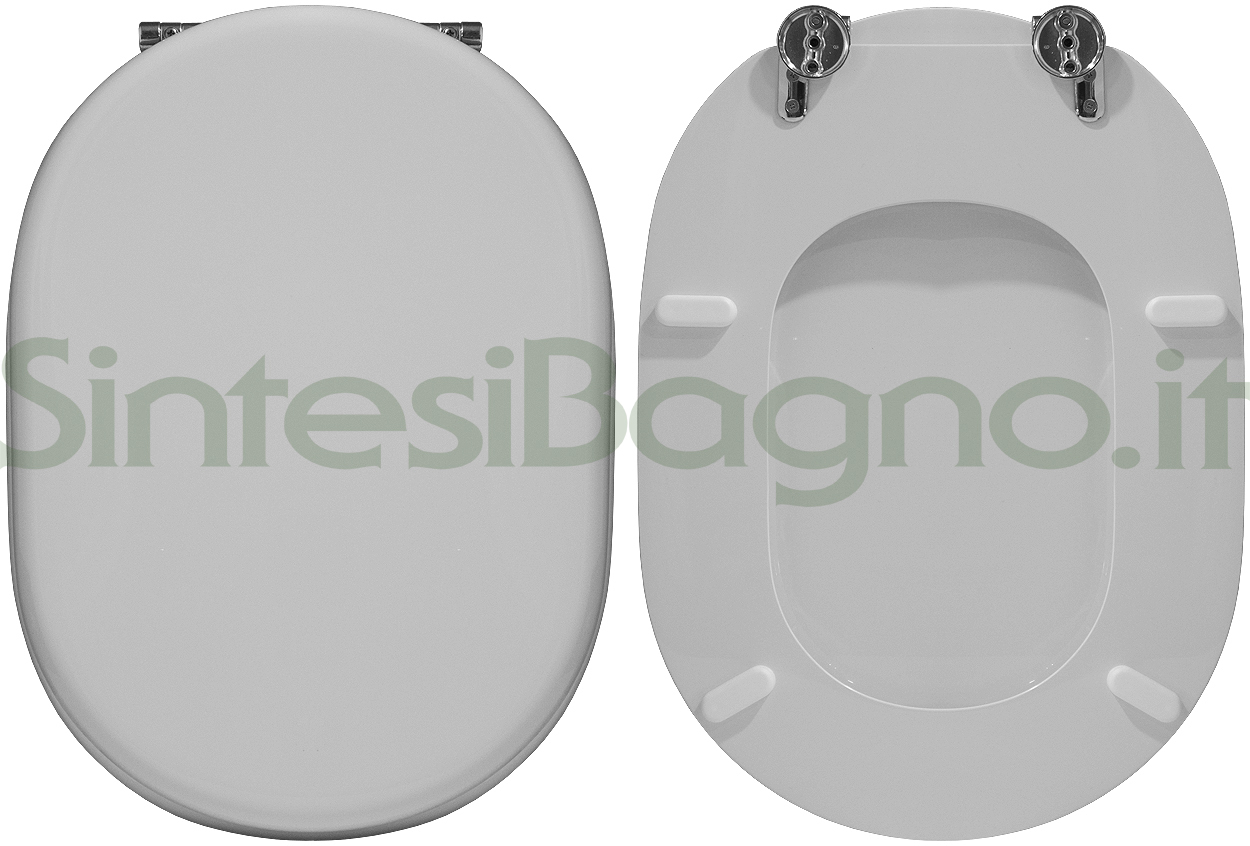 Ricambio copriwater ideal standard fiorile bianco standard for Copriwater ideal standard