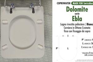 Sedili Wc Dolomite : Catalogo online ricambi copriwater sedili wc dolomite