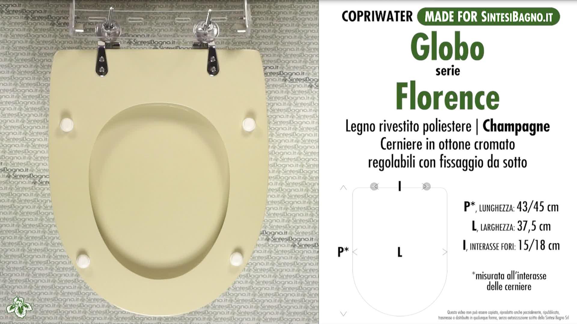 Schede tecniche Globo Florence