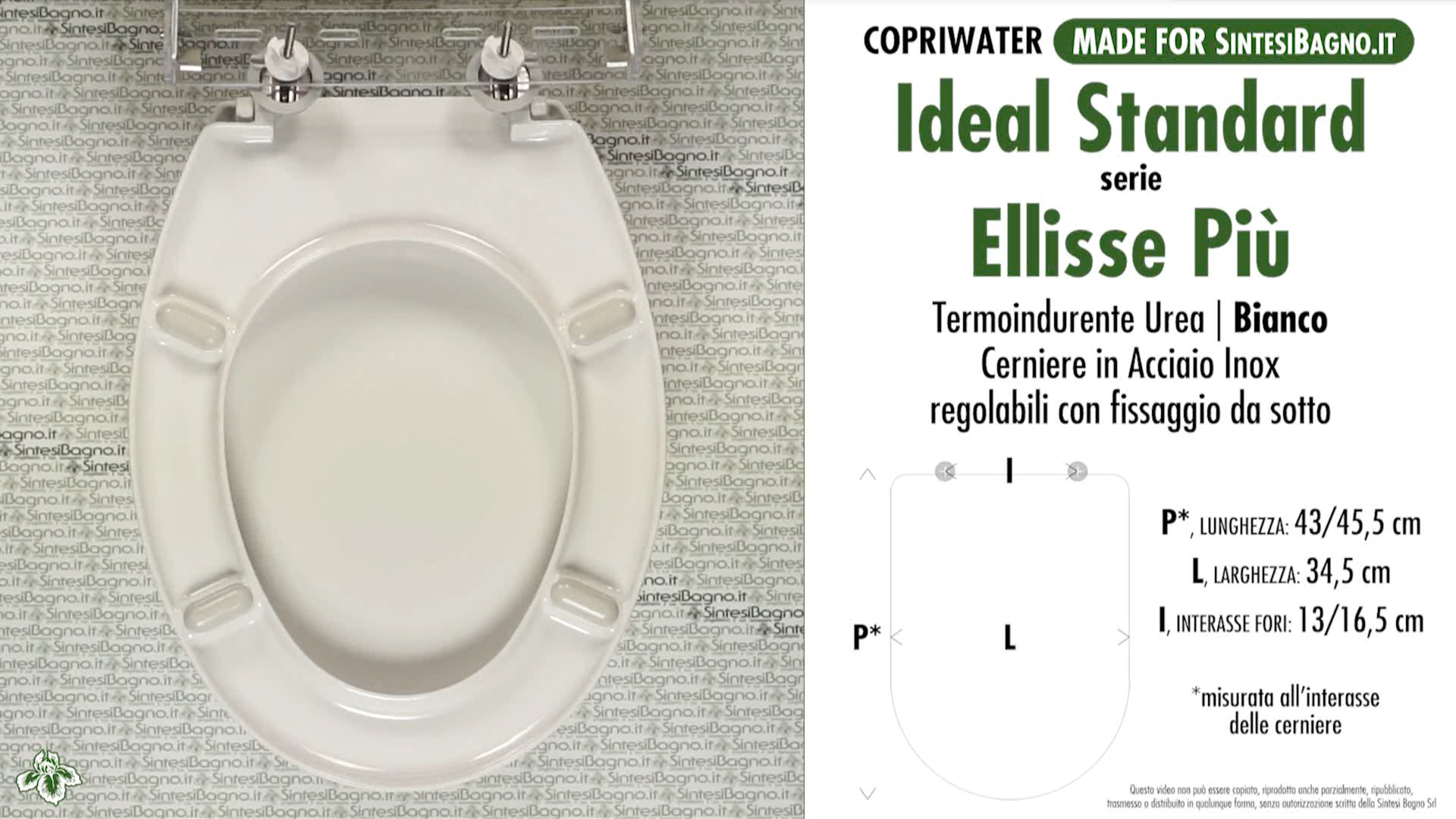 Schede tecniche misure copriwater ideal standard serie for Calla ideal standard scheda tecnica