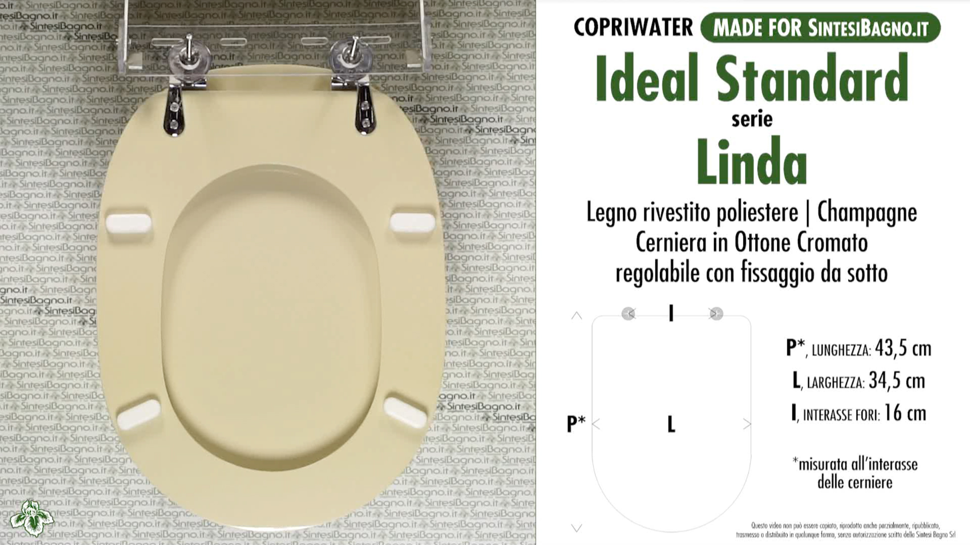 Schede tecniche misure copriwater ideal standard serie linda for Calla ideal standard scheda tecnica
