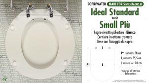 SCHEDA TECNICA MISURE copriwater IDEAL STANDARD SMALL PIU'