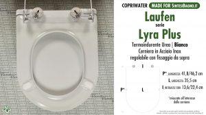 SCHEDA TECNICA MISURE copriwater LAUFEN/DURAVIT LYRA