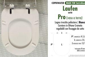 SCHEDA TECNICA MISURE copriwater LAUFEN/DURAVIT PRO