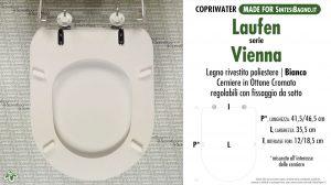 SCHEDA TECNICA MISURE copriwater LAUFEN-DURAVIT VIENNA
