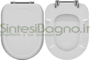 WC-Sitz Cesame WC SINTESI Reihe. Polyester mit holzkern.