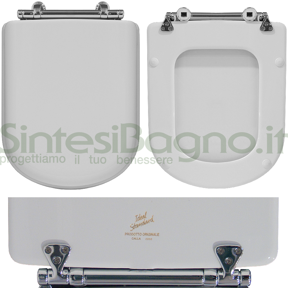 WC-Sitz Ideal Standard WC CALLA Reihe. Polyester mit holzkern