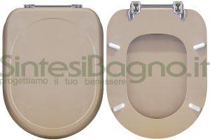 WC-Sitz CESAME wc SINTESI Reihe. Farbe BAHAMA BEIGE