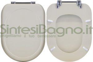 WC-Sitz CESAME wc SINTESI Reihe. Farbe CHAMPAGNE