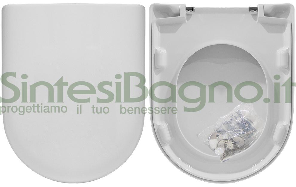 WC-Sitz MADE für DOLOMITE WC ALPINA Reihe. Toilettensitz aus Duroplast