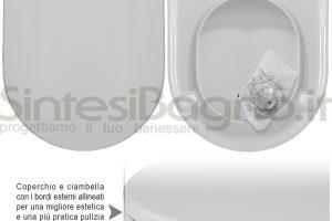 WC-Sitz MADE für Hatria WC MARYLIN Reihe. Urea