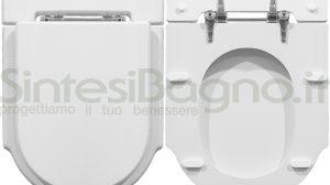 WC-Sitz SintesiBagno MADE für DOLOMITE WC ZAGARA 3P Reihe