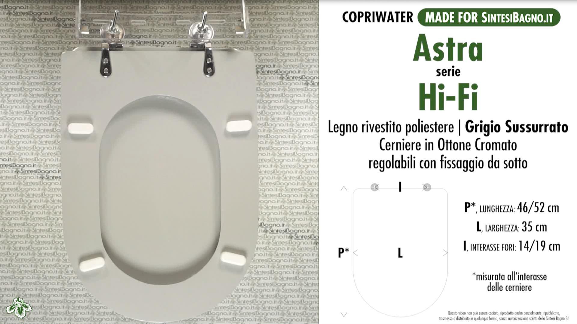 Schede tecniche Astra Hi-Fi
