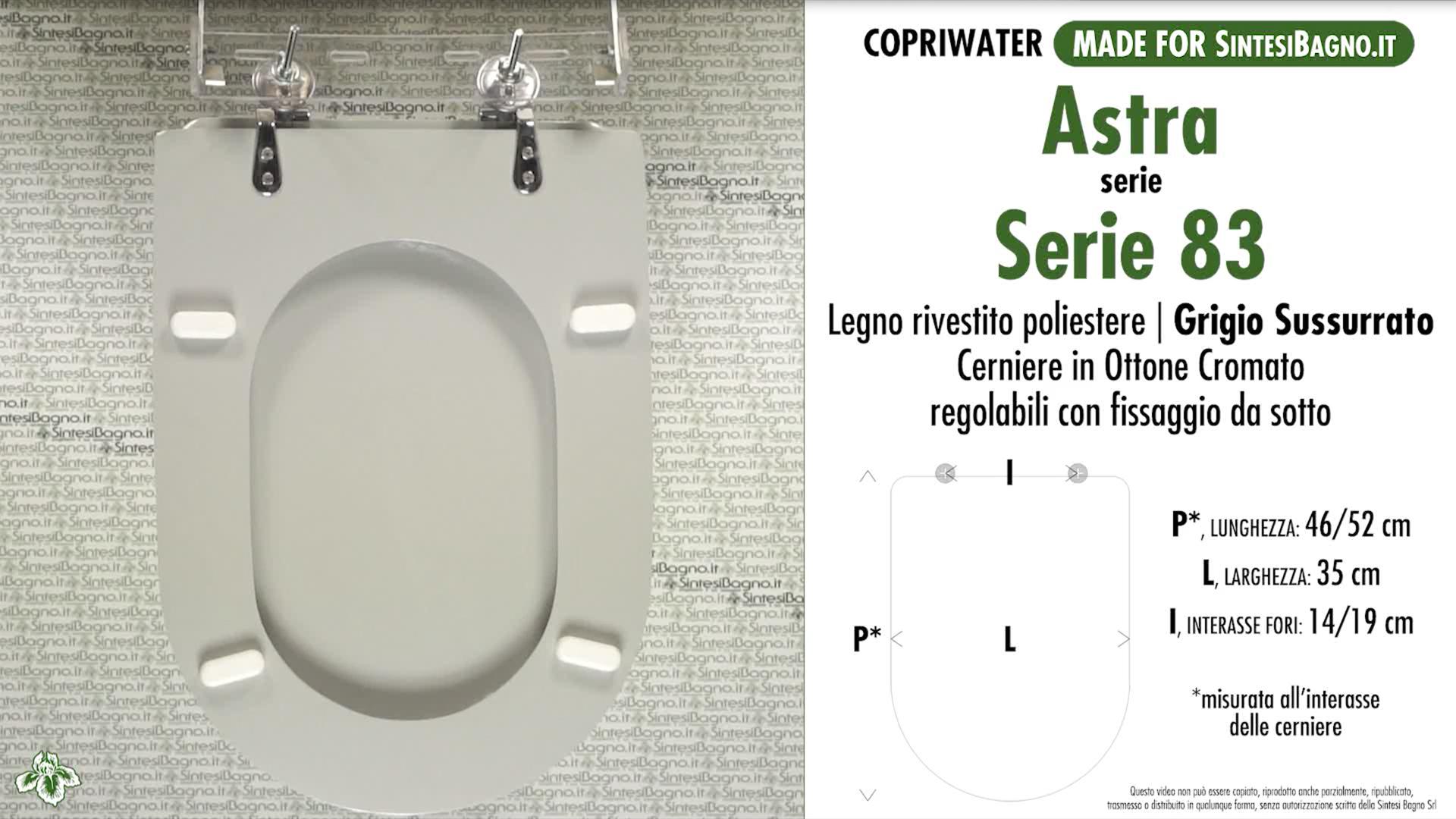 Schede tecniche Astra Serie 83