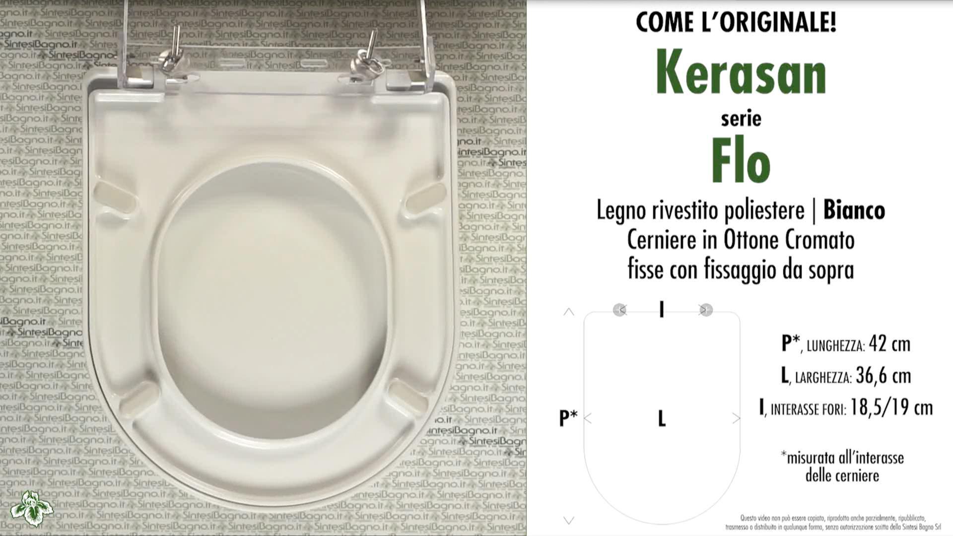 Schede tecniche Kerasan Flo