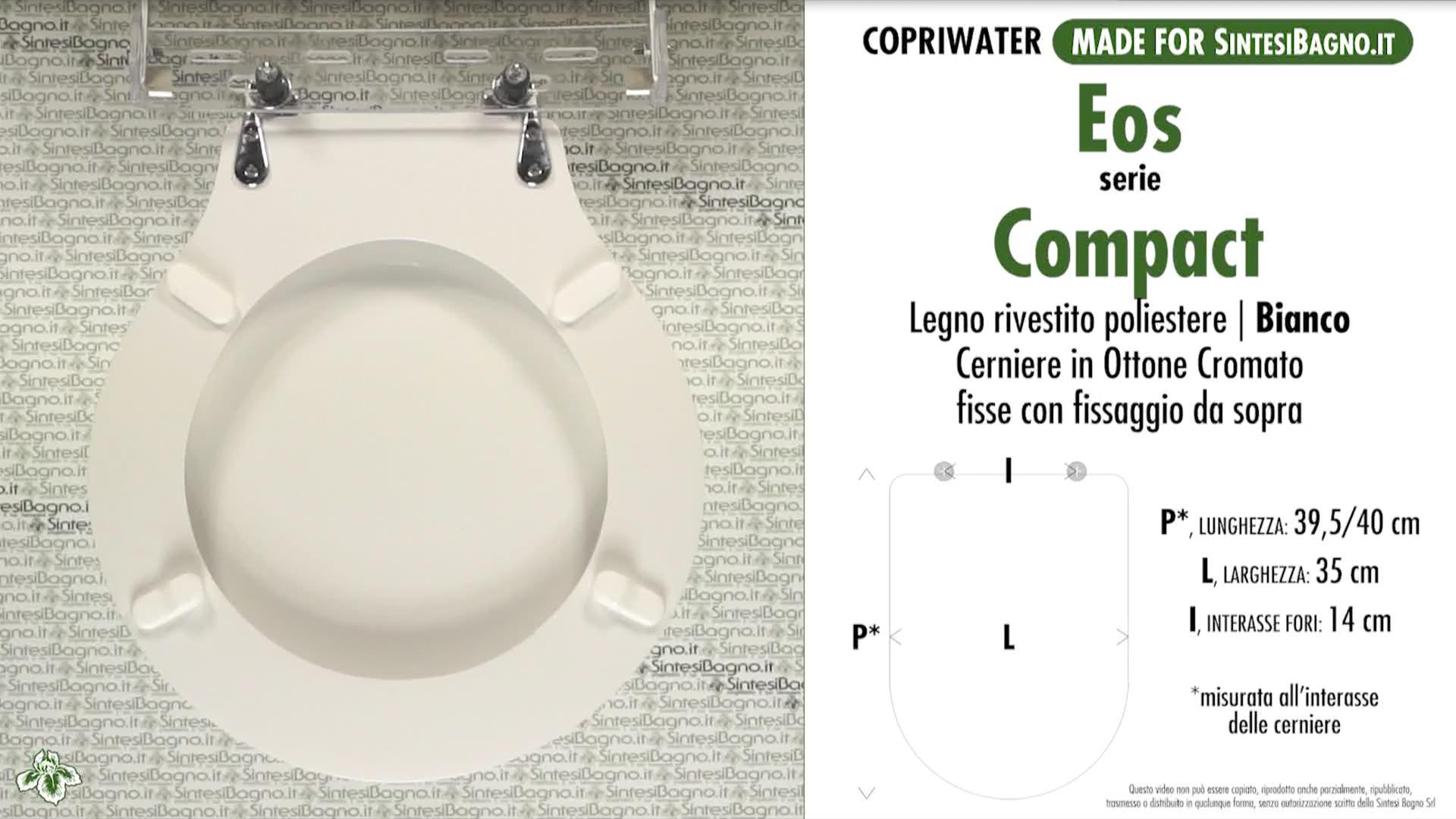 Schede tecniche Eos Compact