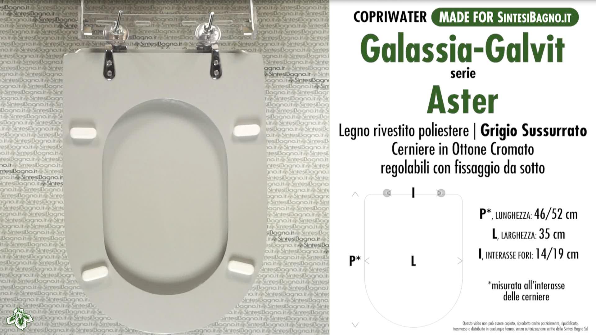 Schede tecniche Galassia-Galvit Aster