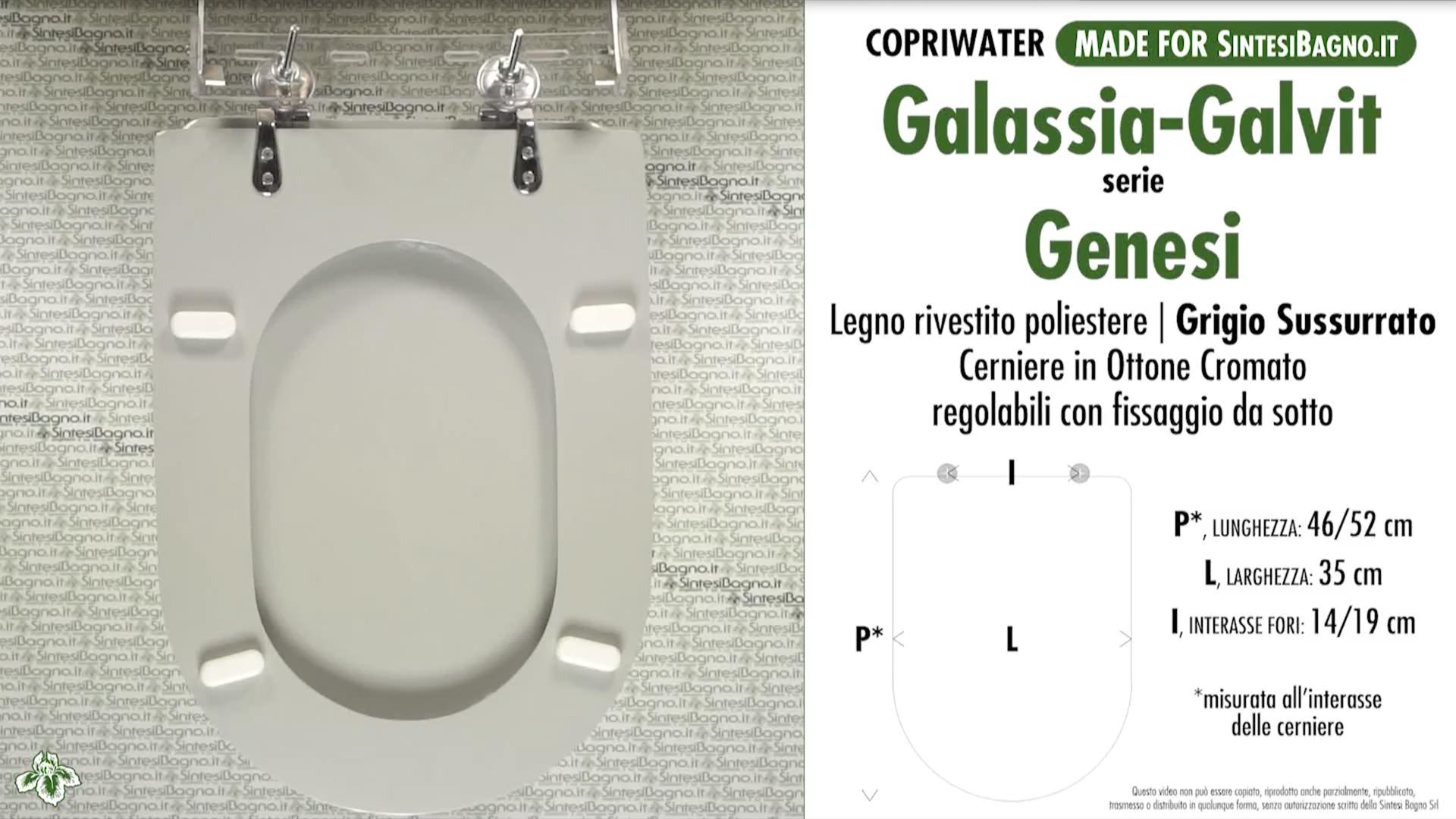 Schede tecniche Galassia-Galvit Genesi