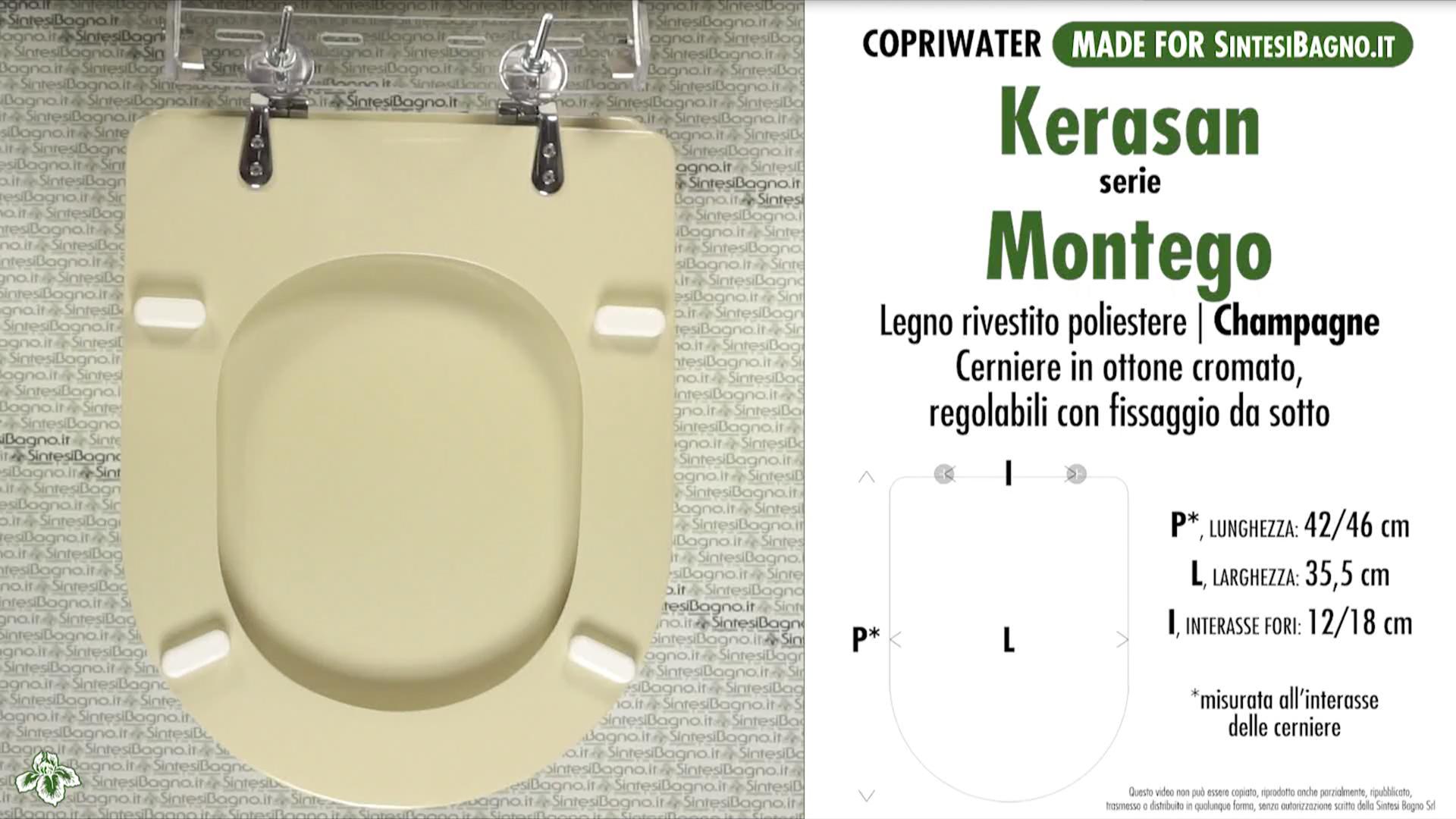 Schede tecniche Kerasan Montego