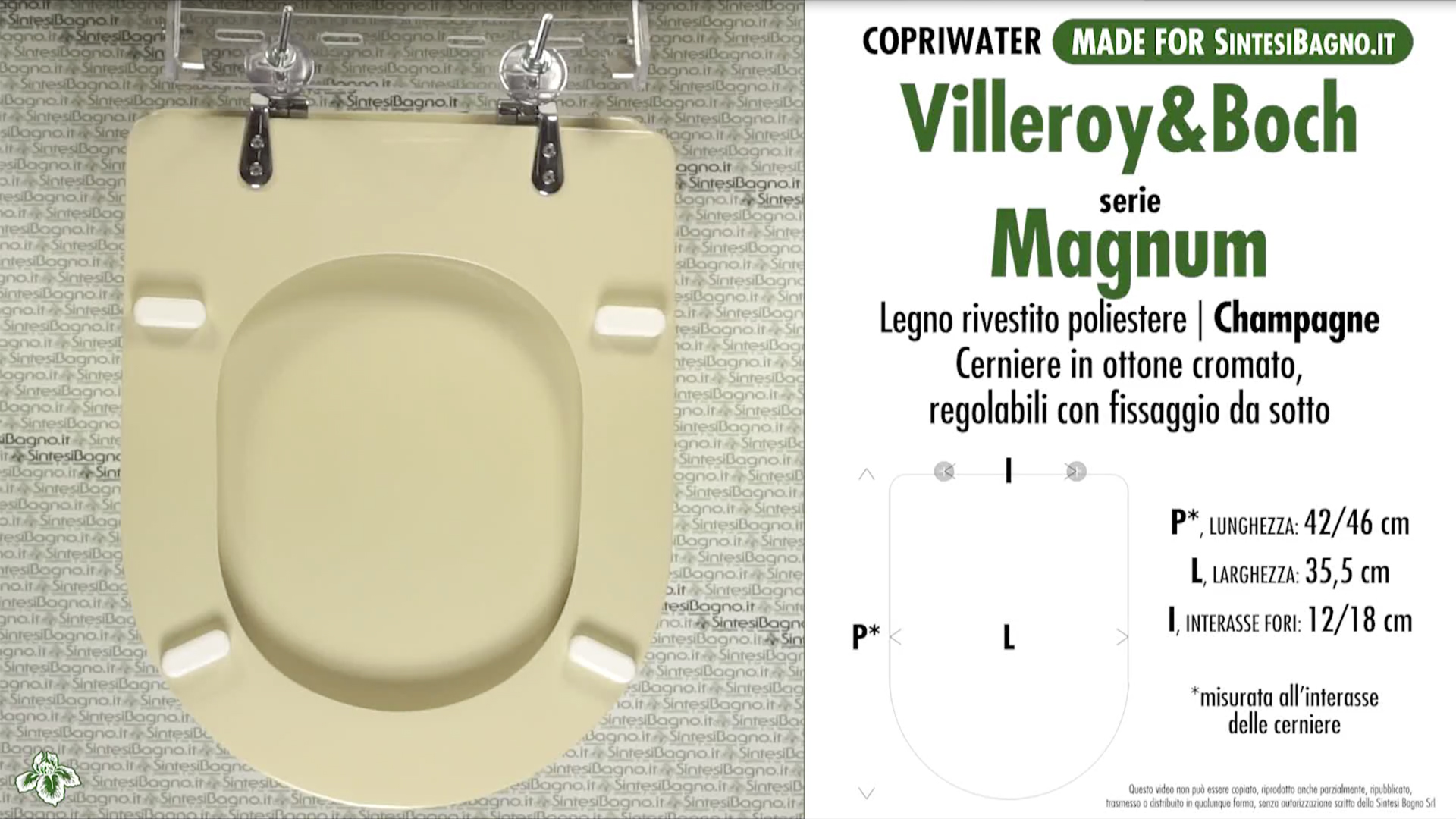 Schede tecniche Villeroy&Boch Magnum
