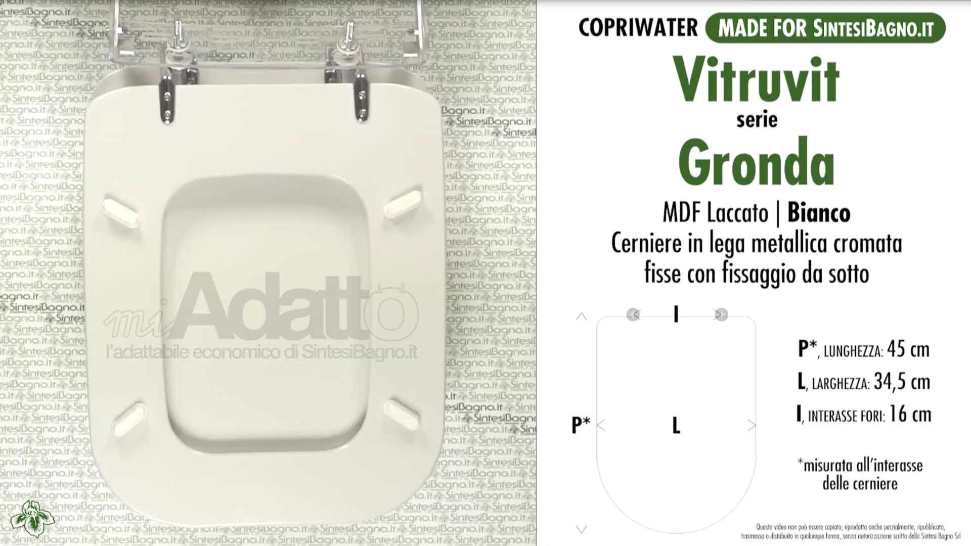 Schede tecniche Vitruvit Gronda