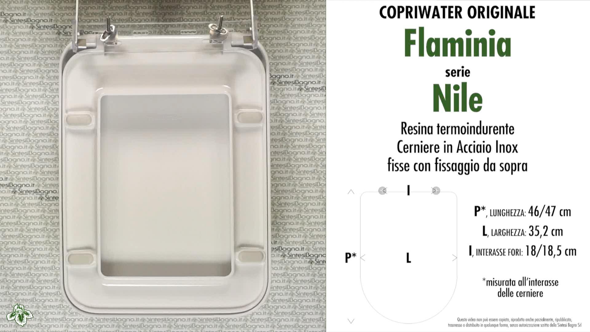 scheda-tecnica-datasheet-copriwater-originale-flaminia-serie-nile
