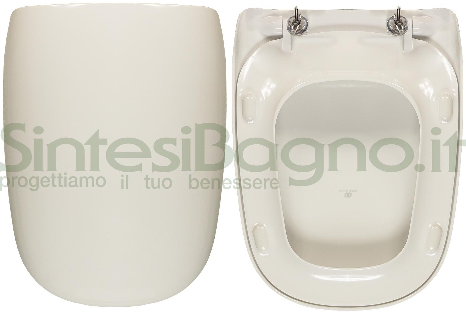 Ricambio ORIGINALE copriwater per vaso POZZI GINORI modello CITTERIO