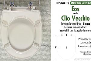 SCHEDA TECNICA MISURE copriwater EOS CLIO