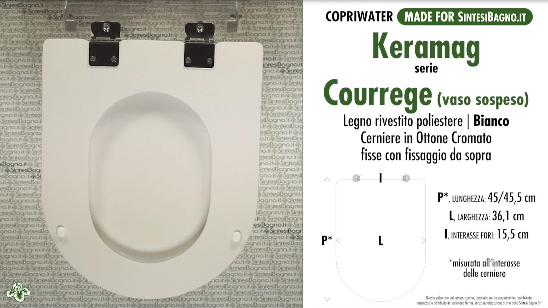 Schede tecniche Keramag Courrege