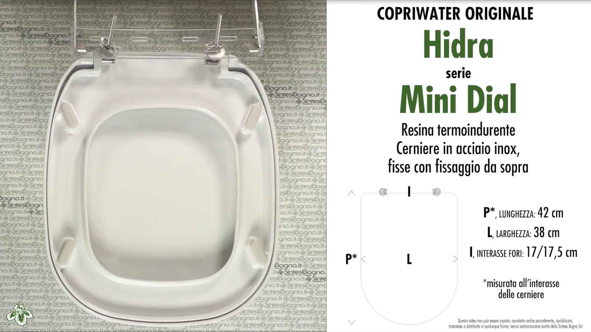 Schede tecniche Hidra Mini Dial