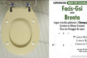 Schede tecniche Facis/GSI Brenta